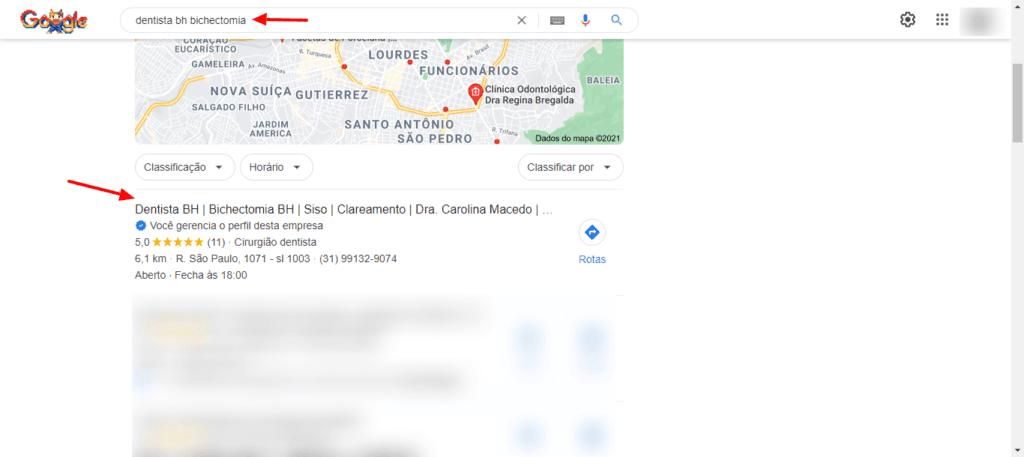 Google Meu Negocio Agencia de Marketing Digital SEOBH